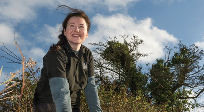 SOMERSET WILDLIFE TRUST APPOINTS ITS FIRST ON-SITE VISITOR OFFICER