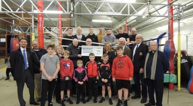 COUNCILLOR COMMUNITY GRANT AWARDED TO BARUM BOXING CLUB