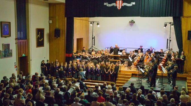 TOP ORCHESTRA MAKES MUSIC WITH DEVON SCHOOLS