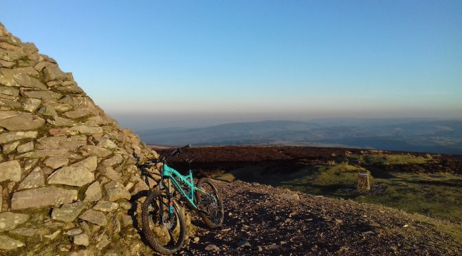 MOUNTAIN BIKING ON EXMOOR BY BECKY PARKER