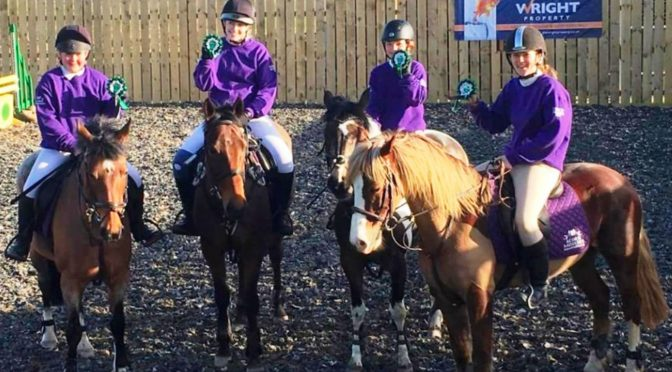 NORTH DEVON SCHOOLS' SHOW JUMPING LEAGUE: HAT TRICK FOR SOUTH MOLTON