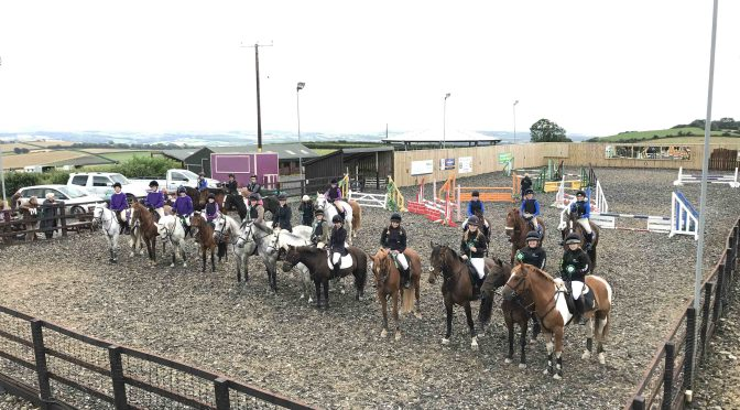 NORTH DEVON SCHOOLS SHOW JUMPING LEAGUE: OVERALL REPORT & REPORT FROM SOUTH MOLTON COLLEGE