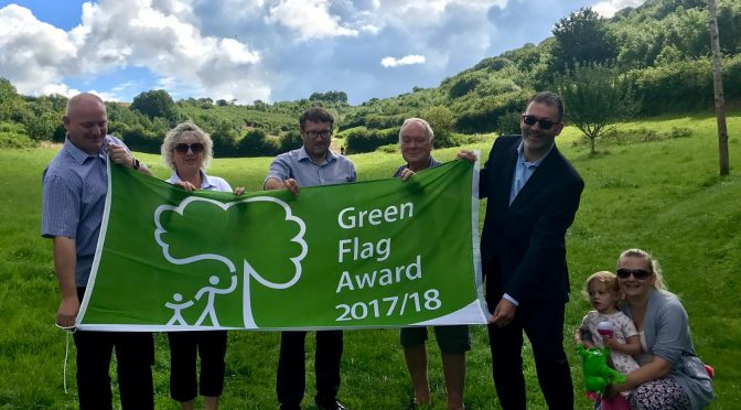 GREEN FLAGS STILL FLYING FOR BICCLESCOMBE & YEO VALLEY