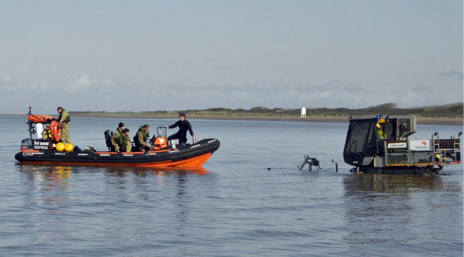 BURNHAM-ON-SEA RNLI LENDS BOMB DISPOSAL A HAND