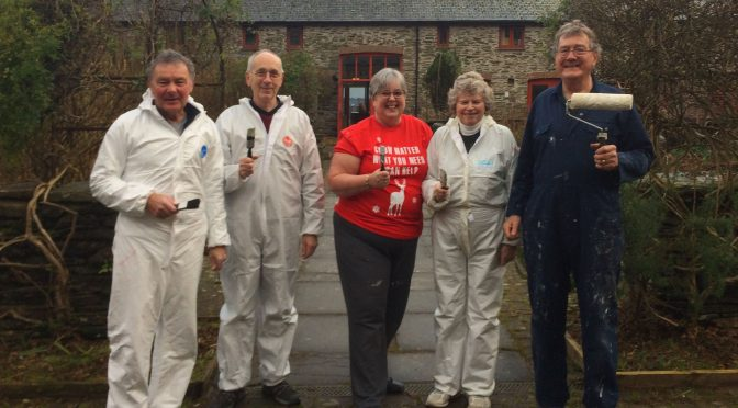 PAINTING PARTY AT CALVERT TRUST EXMOOR