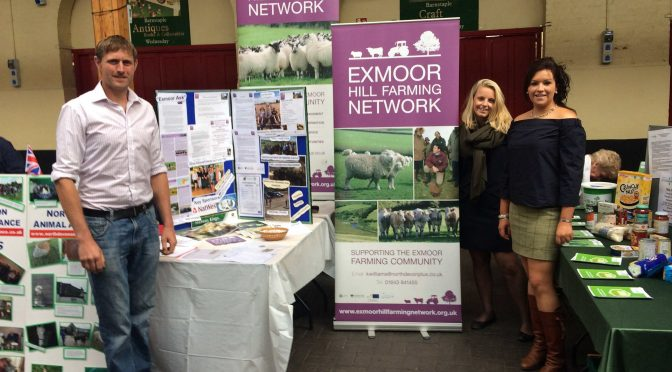 FURTHER FUNDING FOR EXMOOR HILL FARMING NETWORK (EHFN)