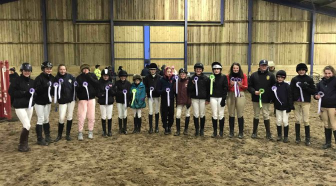 NORTH DEVON SCHOOLS SHOW JUMPING LEAGUE (NDSSJL) ROUND FOUR RESULTS